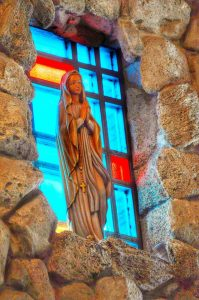 Mary in Window